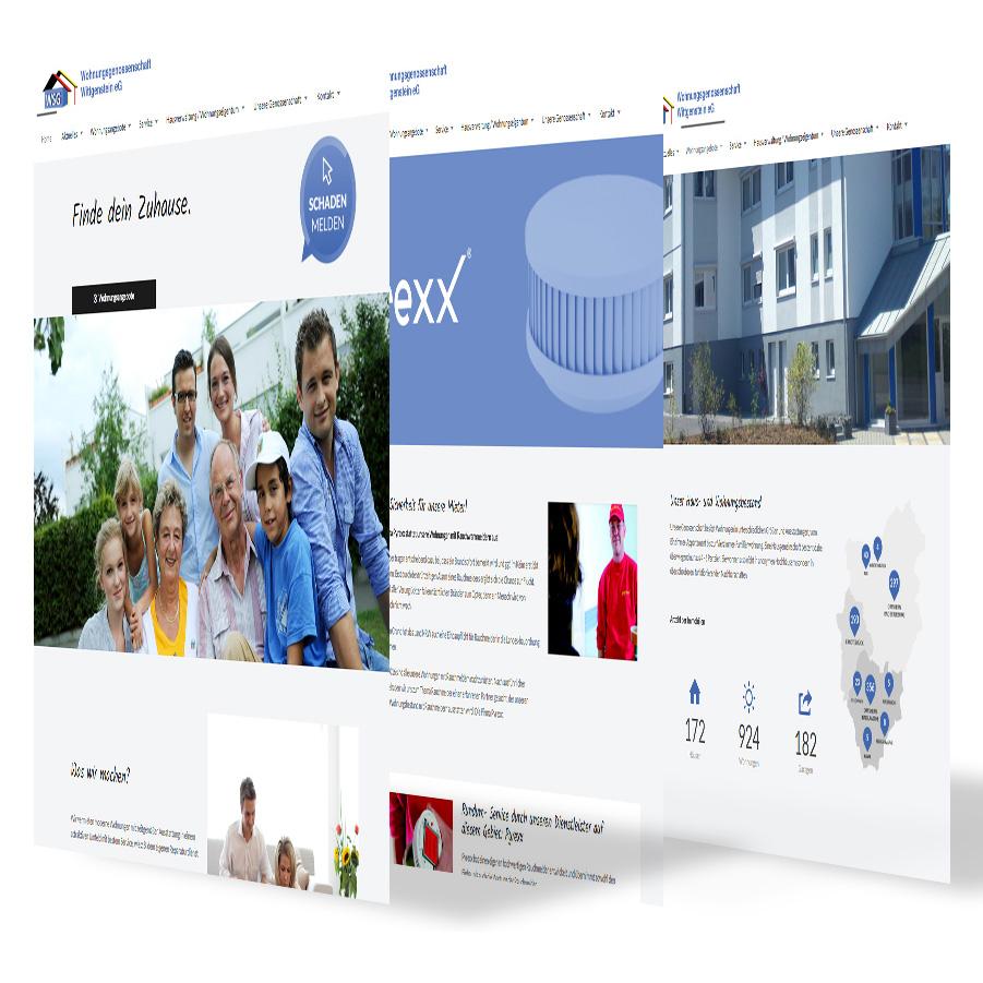 Wohnungsgenossenschaft Wittgenstein Webseite
