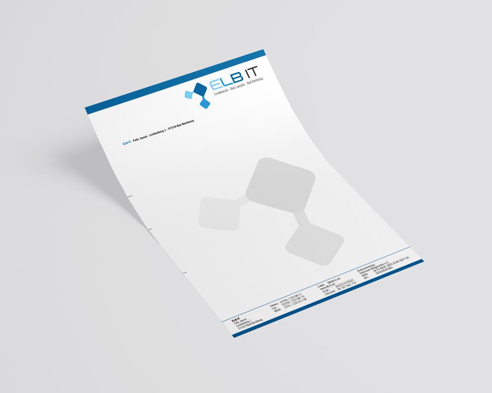 ELB IT – IT für Wittgenstein Briefpapier