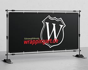 Fahrzeugfolierung Wrappingart Banner