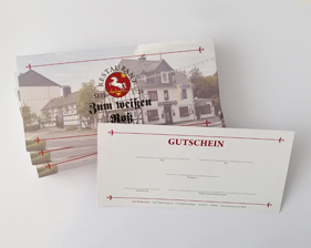 Restaurant Zum Weißen Roß Gutscheine