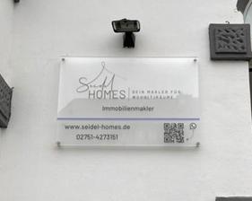 Seidel Homes Acrylschild