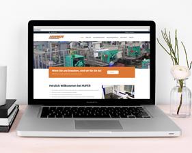 Hufer Kunststoffverarbeitung Webseite
