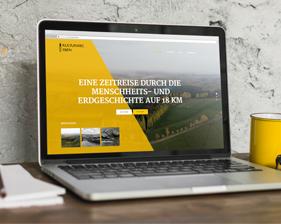 Kulturweg Eisen Webseite