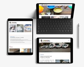 Malermeisterbetrieb Hubertus Reuber Webseite