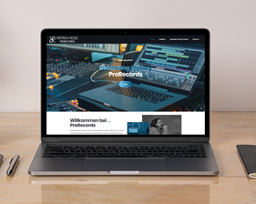 ProRecords Patrick Rose Webseite