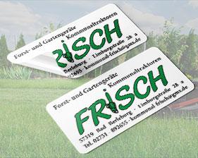 Forst- und Gartengeräte Frisch Aufkleber
