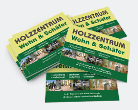 Holzzentrum Wehn & Schäfer Etiketten