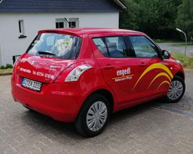 engedi – Ambulante Pflege Fahrzeugbeschriftung