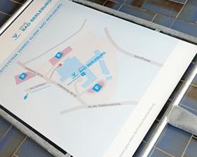 VAMED Klinik Bad Berleburg Parkleitsystem