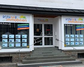 Rothaar Immobilien Schaufensterbeschriftung