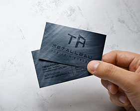 Metallbau Tobias Riedesel Visitenkarten