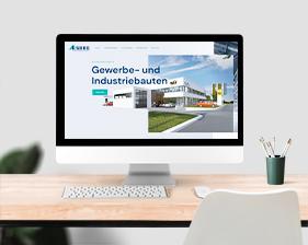 ESBEE Industriebau Webseite