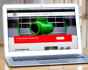 Söffge Industriearmaturen Webseite