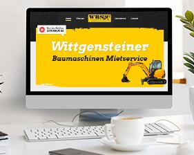 WBS – Ralf Dickel – Wittgensteiner Baumaschinen Mietservice Webseite